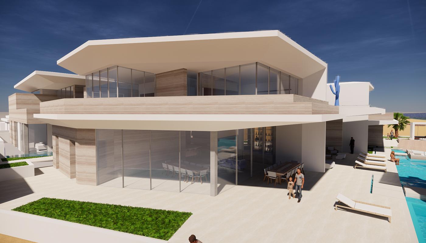 Casa Marea Tide House Cabos Four Season Rendering 4 2
