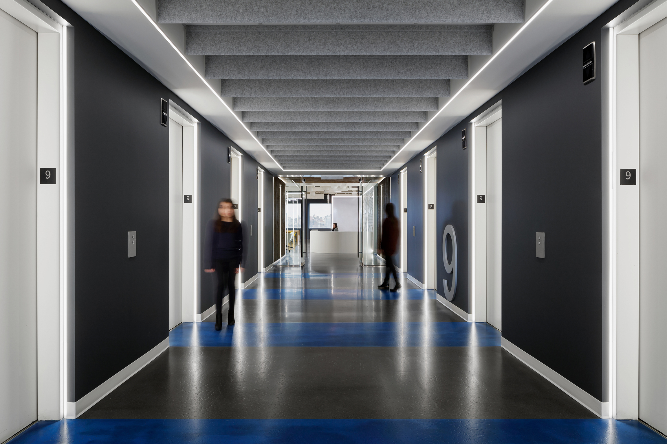 Ecommerce Client Elevator Lobby