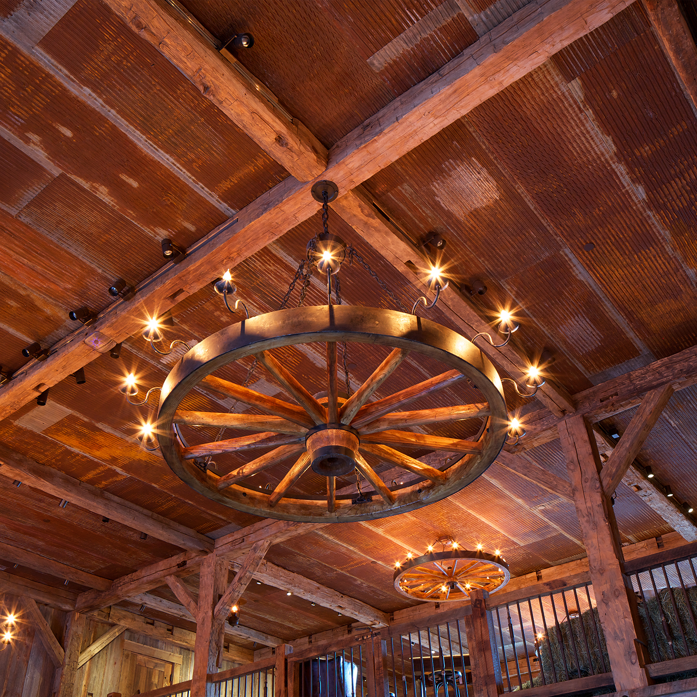 Redstone Ranch Barn Custom Fixture