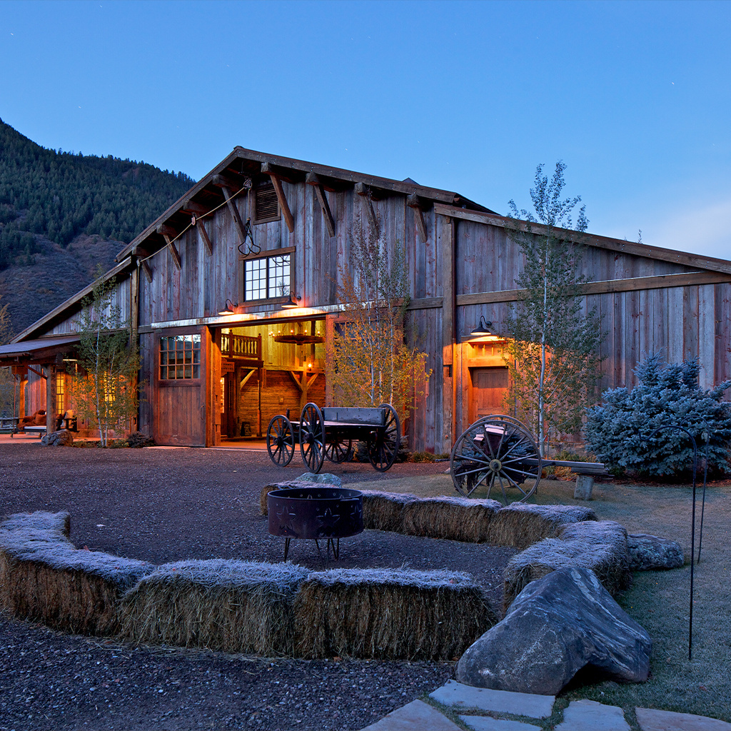Redstone Ranch Barn Exterior 2