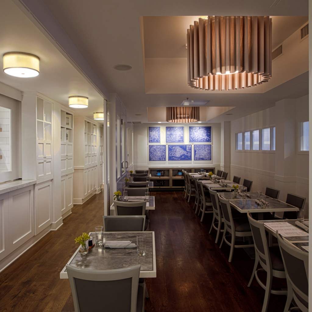 Sartos Restaurant Private Dining Open Kitchen High Quality Lighting Within Budget