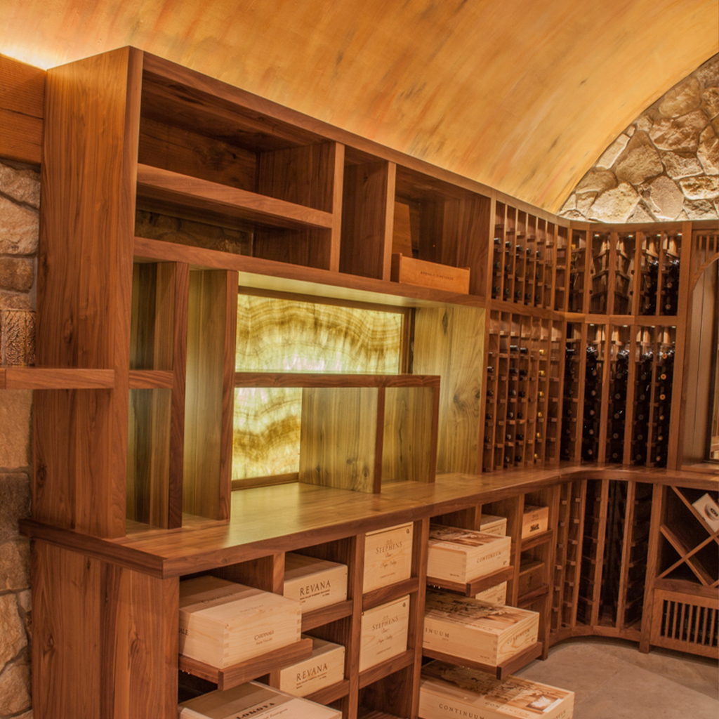 Wine Cave Backlit